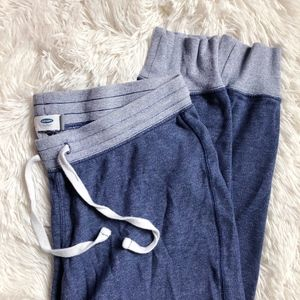 OLD NAVY blue two tone jogger lounge pants